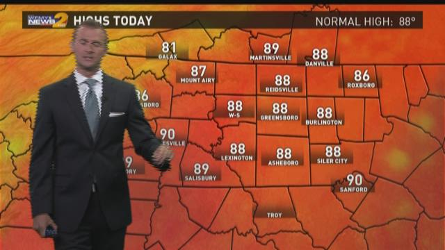 Grant Gilmore's Tuesday Afternoon Forecast