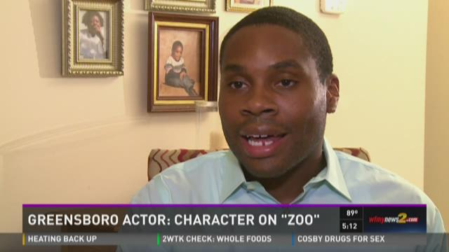 Greensboro Actor Landed Role in CBS Show 'Zoo'