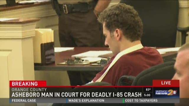 Asheboro Man In Court For Deadly I-85 Crash