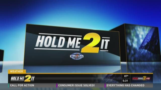 Hold Me 2 It Forecast, Friday, July 24, 2015