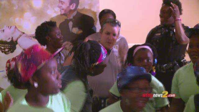 Greensboro Police Hit The Dance Floor With Local Kids
