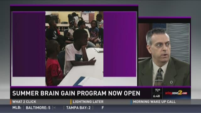 Summer Brain Gain Program