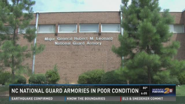 NC NATIONAL GUARD ARMOIRES IN POOR CONDITION