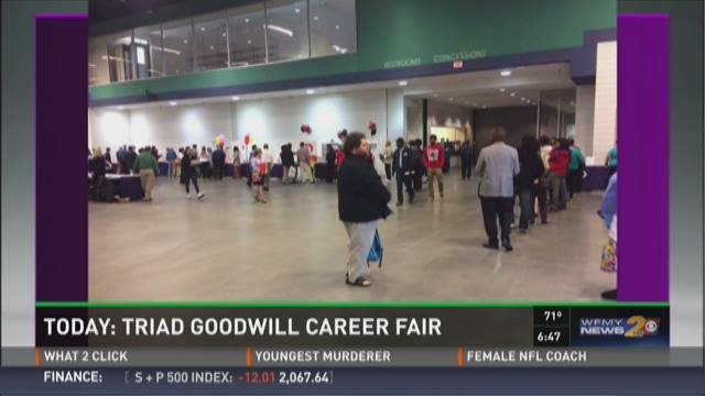 Triad Goodwill Hosts Career Fair In Eden