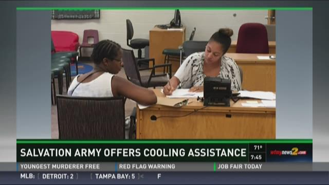 Salvation Army offers assistance to people in need