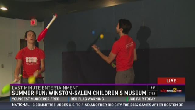 Winston Salem Childrens Museum Summer Camp