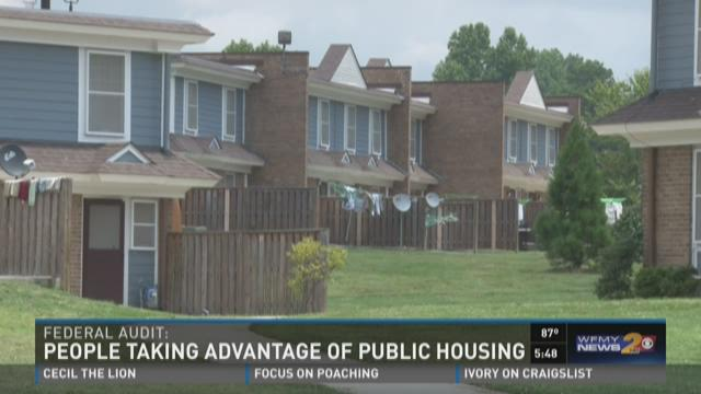 Audit: Rich Living In Public Housing