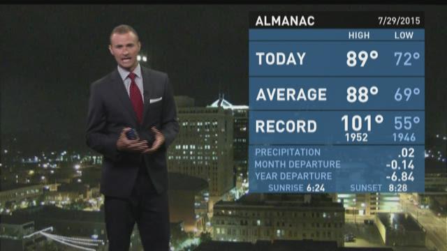 Grant Gilmore's Wednesday Overnight Forecast