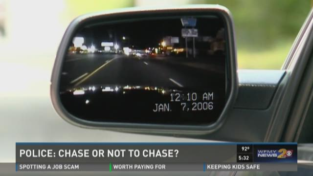 Police – To Chase Or Not To Chase?