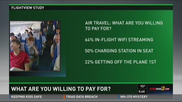 Would You Pay For These Flight Features?