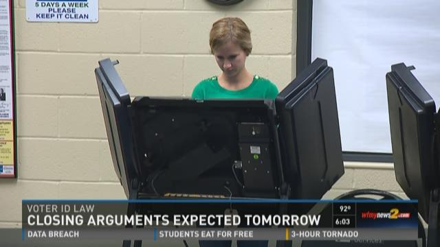 Voter ID Law Argument Expected Tomorrow