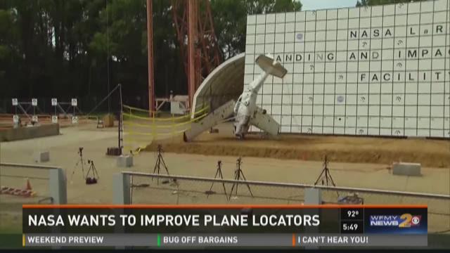NASA Pushes For Plane Crash Tests