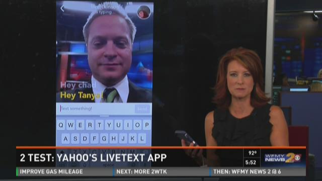 2Test: Yahoo's New LiveText App