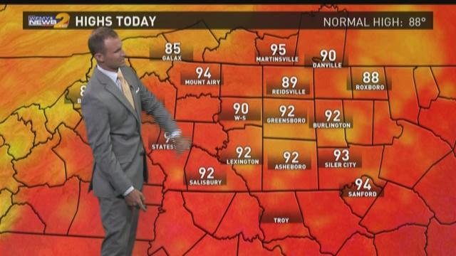 Grant Gilmore's Thursday Evening Forecast