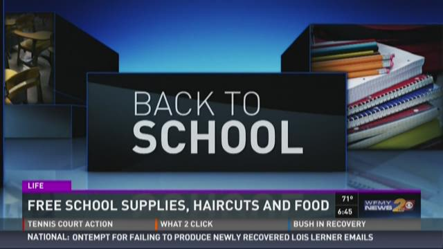 Get Free Back To School Supplies Saturday