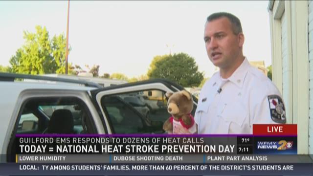 Heat Stroke Prevention Day!