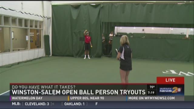 Winston-Salem Open tennis tournament