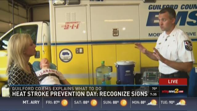 Heat Stroke Prevention Day - Symptoms, Prevention, Response
