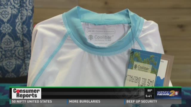 Consumer Reports Tests If Sunblock Clothing Works