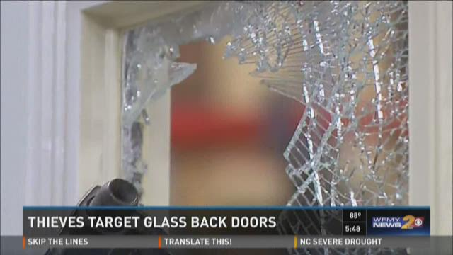 Security experts say burglars are taking advantage