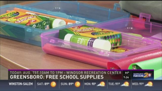 Back To School: Free School Supplies