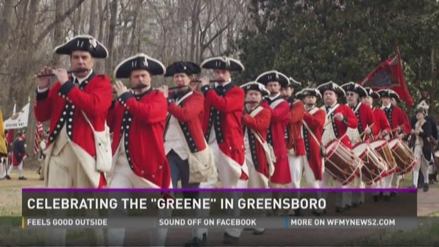 """Celebrating The """"Greene"""" In Greensboro"""