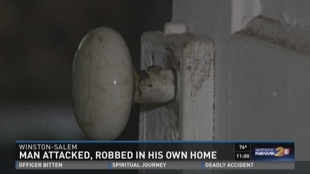 Man Attacked, Robbed In His Own Home