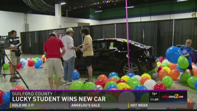 Guilford County Student Wins A New Car