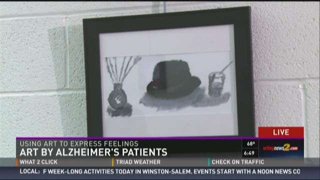 Art Program Helps Alzheimer Patients Express Themselves