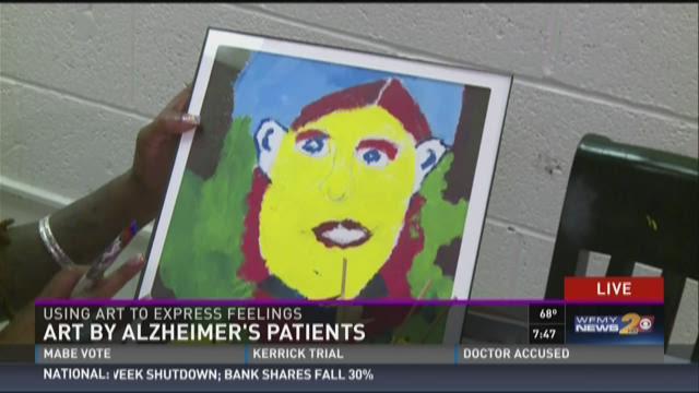 Art Program Helps Alzheimer Patients Express Themselves