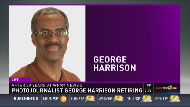 Photojournalist George Harrison Retiring