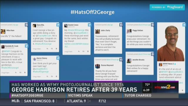 Photojournalist George Harrison Retiring