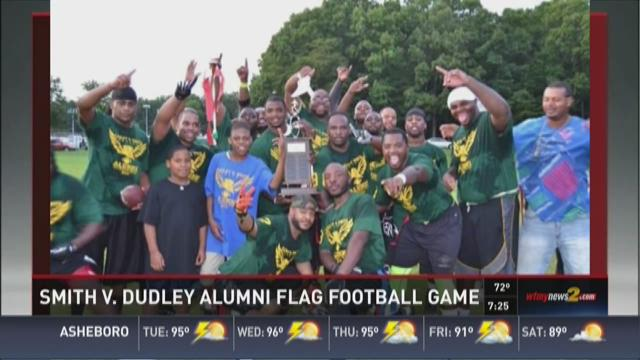 This weekend, Dudley and Smith High School Alumni football