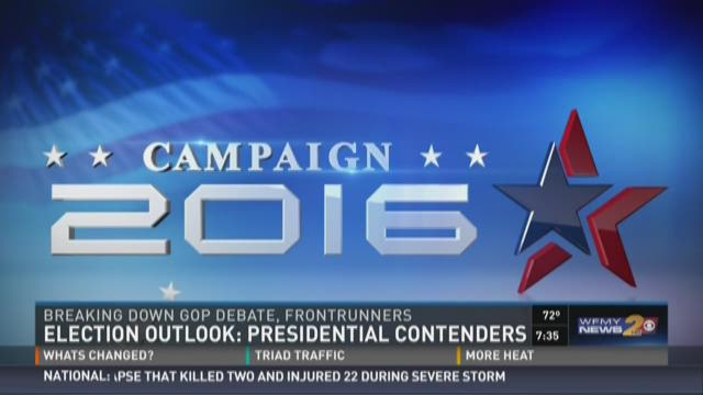 The race for the White House heats up this year as