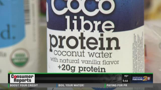 Consumer Reports Tests Latest Food Craze, Protein