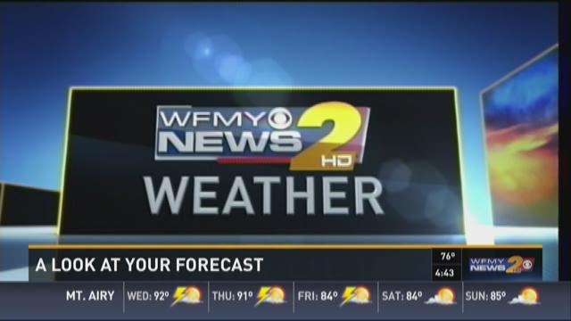 Ed Matthews' Wednesday Morning Forecast
