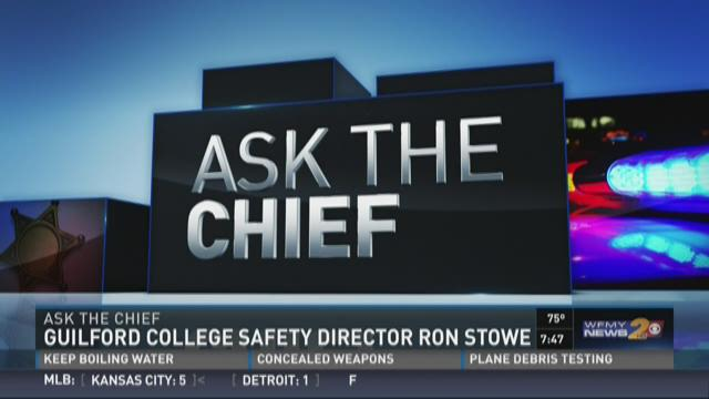 Ask The Chief: Guilford College's Ron Stowe