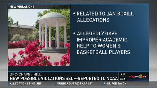 How to report ncaa infractions