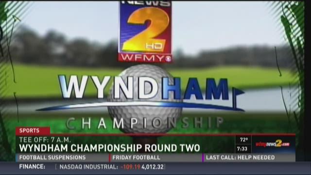 Wyndham Round 2 Tees Off