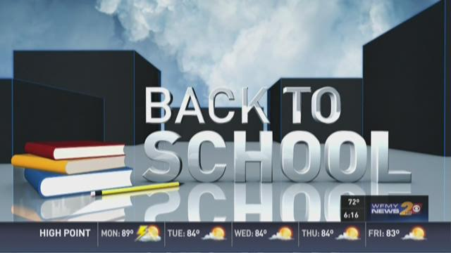 First Day of School for Students Across Piedmont Triad