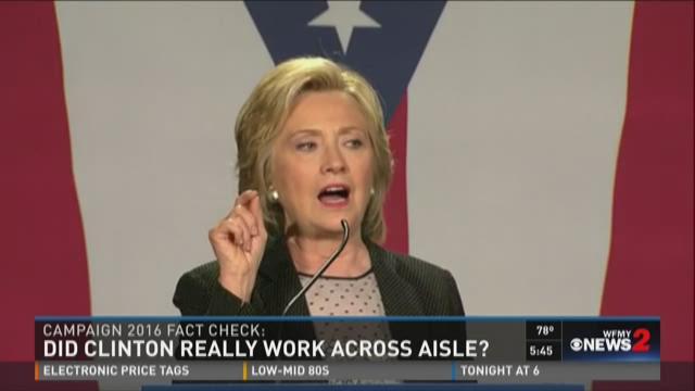 Hillary Clinton speaks in Concord, N.H., on June 15, 2015.
