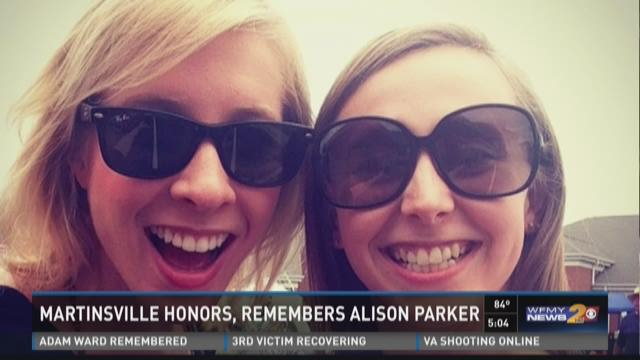 Martinsville Honors, Remembers Alison Parker