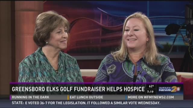 The Greensboro Elks golf tournament will benefit hospice