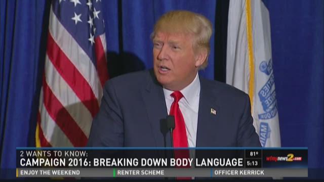Campaign 2016:  Understanding Candidates Body Language