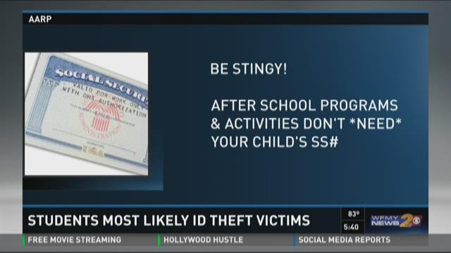 Students More Likely To Be ID Theft Victims
