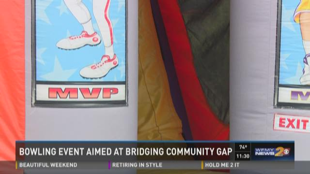 Bowling Event Aimed At Bridging Community Gap