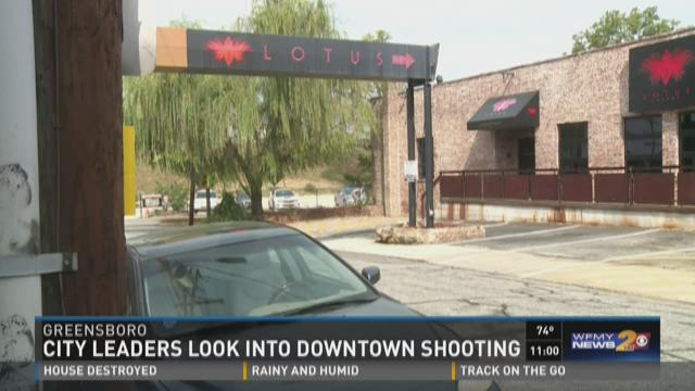 City Leaders Look Into Downtown Shooting