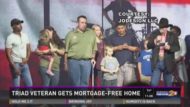 Triad Veteran Gets Mortgage-Free Home