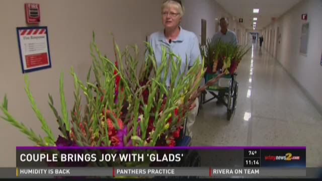 Couple Brings Joy With 'Glads'