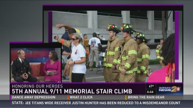 Greensboro Hosts 5th Annual 9/11 Memorial Stair Climb